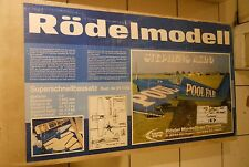 Rodelmodell Stephens Akro 1/4 Scale Almost Ready To Cover Kit 011150 Rare