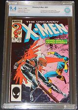 Uncanny X-Men 201_CBCS 9.4_OW/W Pgs_1st Cable as baby Nathan! 1st Portacio X-Men