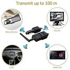 VOX Wireless Video Transmitter, Receiver for Car Rearview Backup Camera, Monitor