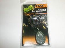 Fox Edges Tungsten Line Guard Beads 8pk Carp fishing tackle