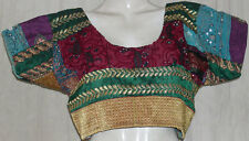 Bollywood Choli Top Blouse Indian saree| Festival Banjara Kuchi | Max Bust 42""