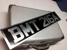 JAMES BOND BMT 216A SECRET AGENT 007 MOVIE PROP LICENSE PLATE ASTON MARTIN DB5