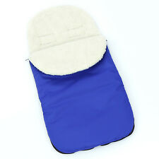 UNIVERSAL FOOTMUFF WOOL LINING PUSHCHAIR BUGGY STROLLER BABY COSY TOES FOOT MUFF