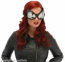 CAT EYE GOGGLES BLACK Big Costume Glasses Batman Catwoman Superhero Anime Mask