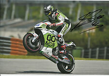 Scott Redding main signé go&fun Honda Gresini 12x8 photo 2014 MotoGP 17.