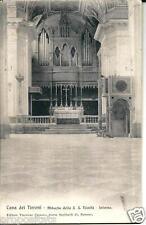 cm 225 1909 CAVA DEI TIRRENI (Salerno) Interno Abbazia S.S.Trinità viagg FP