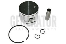 Gas Chainsaw Engine Motor Piston Kit w Rings and Pins 46MM For Husqvarna 55