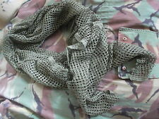 genuine issue BRITISH PARATROOPER PARA AIRBORNE SCRIM NET scarf FALKLANDS NEW xl