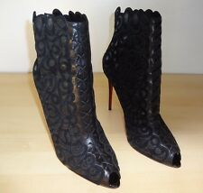 Christian Louboutin Indiboot ankle boots sz 41 / 11  -  Real Stunner !