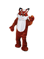 Un tamaño adulto cuerpo completo Fox Mascota Animal de Vida Silvestre Fancy Dress Costume BN