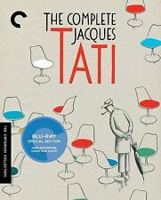 The Complete Jacques Tati (Blu-ray Disc, 2014, 7-Disc Set, Criterion Collection)