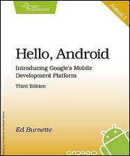 Hello, Android: Introducing Google's Mobile Development Platform-ExLibrary