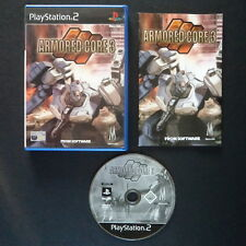ARMORED CORE 3 PlayStation 2 UK PAL English PS2・SHOOTER FROM SOFTWARE complete