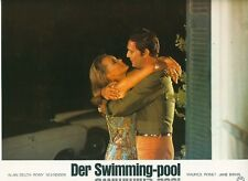 Der Swimming-pool ORIGINAL Aushangfoto Romy Schneider / Alain Delon /Jane Birkin
