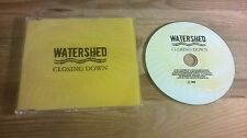 CD Pop Watershed - Closing Down (2 Song) Promo CAPITOL sc