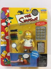 The Simpsons WOS Interactive Figure MARTIN  PRINCE 2001 Series 5 Playmates New