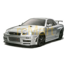 Tamiya NISMO R34 GT-R Z-Tune Body 190mm EP 1:10 RC Car Touring Drift #51246