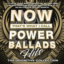 NOW: THAT'S WHAT I CALL POWER BALLADS CD - VARIOUS ARTISTS (2016) - NEW UNOPENED