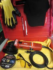 HILTI DAG 450-S ANGLE GRINDER, GREAT SHAPE, FREE EXTRAS, FAST SHIPPING