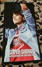 Super junioor ryeowook super show 3 OFFICIAL Postcard Kpop K-pop