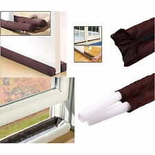TWIN Door DRAFT DRAUGHT Excluder Guard Insulation Window Air Stopper A