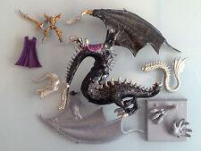 Dark elves - Malekith on Black Dragon, Metal, Incomplete ED01