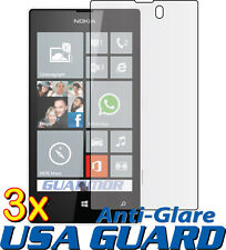 3x Anti Glare Matte Finishing LCD Screen Protector Cover Guard Nokia Lumia 520
