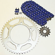 YAMAHA 2005-2006 YZ450F / 2003-06 WR450F BLUE O RING CHAIN & SPROCKET 13/52 116L