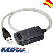 CABLE ADAPTADOR USB A IDE SATA 2,5'' 3.5'' DISCO DURO HD CONVERSOR PC DVD CD