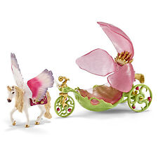 Schleich 42176 Festive Elf Carriage Bayala Fairies Pegasus Horse Figurines - NIB