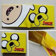 Adventure Time with Finn and Jake Logo wallets Purse Multi 12cm Plastic Leather