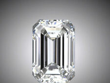 GIA certified 1.5 carat Emerald Cut Diamond H color VS2 clarity Ideal loose