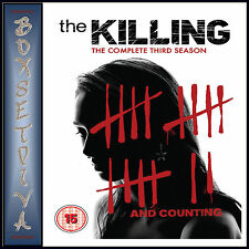 THE KILLING - COMPLETE SERIES SEASON 3 -  **BRAND NEW DVD**