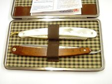 Dovo Solingen Straight Razor Set in Leather Case 2 Piece (857051)