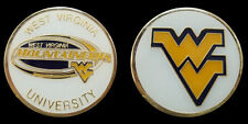 WEST VIRGINIA UNIVERSITY COLLEGIATE COLLEGE COLLECTIBLE CHALLENGE COIN NEW