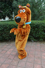 Hot///New Professional Scooby Doo Dog Mascot Costume Adult SIZE Fancy Dress Gift