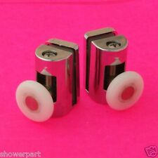 2 x TOP Single Shower Door ROLLERS/Runners/Wheels 25mm in dia Replacements L073