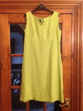 Liz Claiborne 100% Silk Lime Dress Size 8