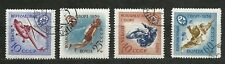 Russia 1959 SC # 2262 - 65. Sport Series of DOSSAF. Series of 4. Used. VF