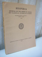 HESPERIA journal of classical studies at Athens 1968 n°2
