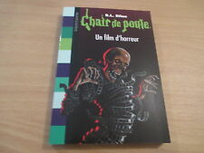 chair de poule un film d'horreur - r. l. stine
