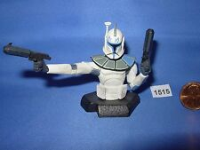 "Star Wars 2007 GENTLE GIANT BUST-UP Blue Clone Trooper TRU Exclusive3.75"" Figure"