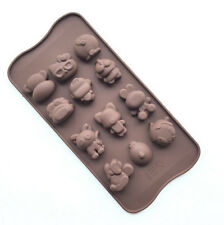 Cartoon character Silicone Chocolate Cake Candy Mold Cookies Ice Baking Mould