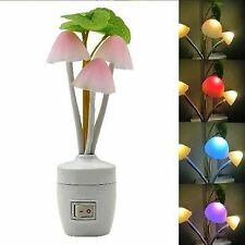 LED MUSHROOM COLORFUL NIGHT LIGHT ROMANTIC / LAMP HOME ILLUMINATION / INDIAN PIN