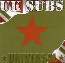 Universal by U.K. Subs (CD, Jun-2002, 2 Discs, Captain Oi! Records)