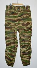 """SHADOW ARMY Vintage Russian CAMOUFLAGE Cargo Pants Cagoule 32"""" Waist Green"""