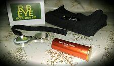 RibEye Shotgun Mounting Aid Christmas Gift set for Clay Shooting Practice.