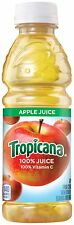 Tropicana Apple Juice 10 Ounce (Pack of 24) 10 Ounce Bottles (Pack of 24)