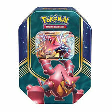 Pokemon Volcanion EX Autumn/ Fall 2016 Collectors Tin: Booster Packs +Promo Card