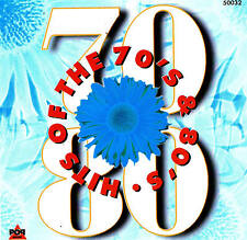 HITS OF THE 70's & 80's - Top Oldies CD 16 Tracks NEU & OVP